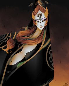 Middy Midna (The Legend of Zelda: Twilight Princess) by Lenecian9