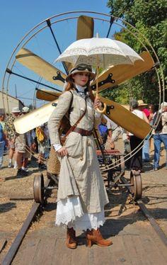 steampunk wear for women   The Adventuress   Steampunk women's clothing  #provestra