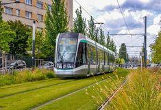 Tramway, Landscape And Urbanism, Futuristic City, Electric Train, Light Rail, Paris, Public Transport, Transportation, Around The Worlds
