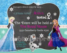 disney frozen birthday party ideas - Google Search