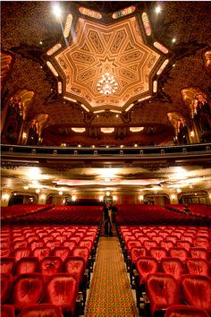 The Ohio Theater, Columbus, Ohio. The Ohio Theater is a performing arts center located at 39 E. State Street. Known as the Official Theater of the State of Ohio, the historic 1928 movie palace was saved from demolition in 1969 and completely restored. It was declared a National Historic Landmark in 1977. (V)