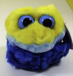 Winky the Yellow Frog Puffkin