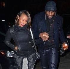 LeBron James Wife   ... photo-gallery/date-night-LeBron lol love demaire-james-wife-savannah-miami-heat-dinner