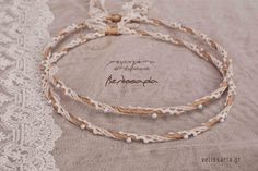 Wedding Wreaths, Tiaras And Crowns, Marriage, Chain, Bracelets, Wedding Stuff, Wedding Crowns, Jewelry, Weddings