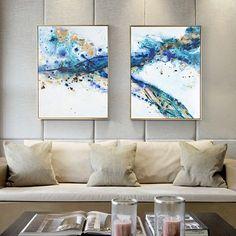 雅溪手绘抽象油画现代客厅装饰画餐厅组合挂画简约欧式样板间壁画-tmall.com天猫