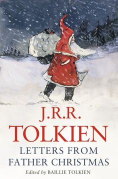 """When John (Tolkien's son) was 3 he got his first letter from Father Christmas. From 1920 until 1943 Tolkien wrote letters, as Father Christmas, to his children. They were accompagnied by lots of funny pictures. Father Christmas Letters, Best Christmas Books, Christmas Fun, Christmas Cover, Christmas Movies List, Christmas History, English Christmas, Christmas Decorations, Christmas Blessings"