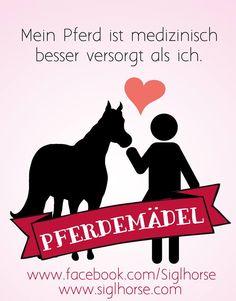 Mein Pferd ist medizinisch besser versorgt als ich.  #pferdemädel