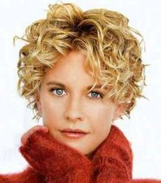short curly hair style meg ryan How to Curl Hair at Home, Get Curly ...