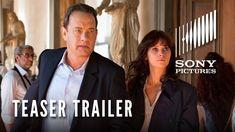 INFERNO (2016) ~ Starring Tom Hanks, Felicity Jones. Directed by Ron Howard. Teaser Trailer (1:45). [Video]