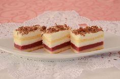 ledeni kolač sa malinama-napraviti u obliku torte Brze Torte, Kolaci I Torte, Torte Recepti, Torte Cake, Cake Bars, Baking Recipes, Cake Recipes, Dessert Recipes, Cake Cookies