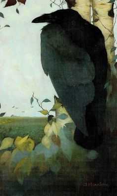 Jan Mankes, incredible observer and painter of nature/people.