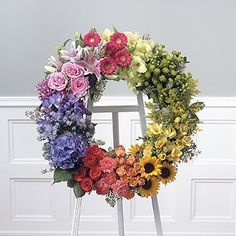 Flowerama Columbus offers the best selection of Sympathy Flowers in Ohio. We have casket flowers, standing funeral sprays, funeral wreaths and more. Church Flowers, Funeral Flowers, Wedding Flowers, Arrangements Funéraires, Funeral Flower Arrangements, Funeral Sprays, Corona Floral, Memorial Flowers, Design Floral