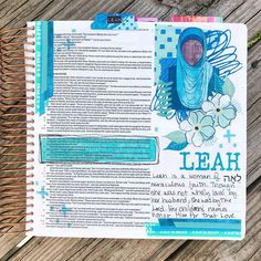 """Jenn on Instagram: """"Started journaling my women of the Bible beginning with my favorite. How faithful was Leah?!?!? So humble and devoted to the Lord was she…"""""""
