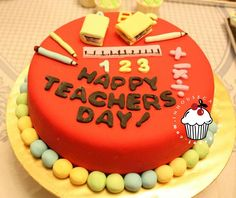 pasteles para maestros