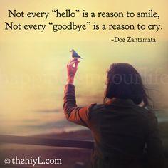 "don zantamata | Not every ""hello"" is a reason to smile."