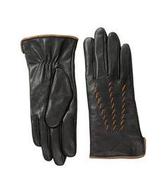 LAUREN Ralph Lauren Whip Stitch Points Thinsulate Gloves