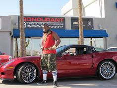 Mr. T and his Chevy Corvette ZR1 pity the fools driving puny cars.
