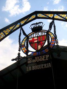 O mercado mais antigo de Barcelona