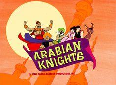 Arabian Knights production title card (Hanna-Barbera, 1968)