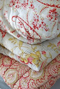 """Quilts!  ALL Quilts, but my favorite place to buy a quilt is """"Quilt Land"""" in Canton, Texas.  I LOVE quilts!"""