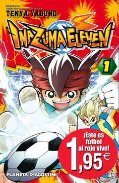 INAZUMA Nº 01 - TEN YA YABUNO - El personaje principal, Mark Evans, es un portero muy talentoso y el nieto de uno de los más fuertes porteros en Japón. A pesar de que sus habilidades son increíbles, su escuela carece de un club de fútbol de verdad, ya que los otros miembros no parecen muy interesados en entrenarse.