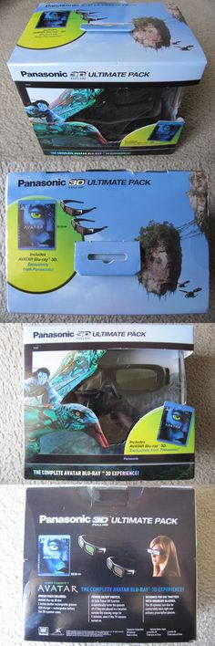 3D TV Glasses and Accessories: New Panasonic Ty-Ew3d2mmk2 3D Ultimate Pack (Avatar 3D + 2 Rechargeable Glasses) -> BUY IT NOW ONLY: $239.95 on eBay!