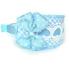 Vinchas o diademas de tela para niñas