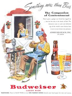 Budweiser | Something more than Beer vintage ad