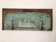 Alfred Wallis by PaintedFrench on Etsy, £5,000.00