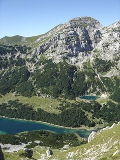 The Durmitor is a massif that gave its name to a national park in northwestern Montenegro. The highest peak, Bobotov Kuk, reaches a height of meters. Train Vacations, Southern Europe, Adriatic Sea, World View, Bosnia, Eastern Europe, Slovenia, Beach Resorts, Vacation Destinations