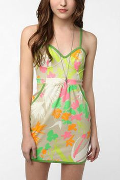 Cooperative Glow In The Dark Summer Sundress on shopstyle.com