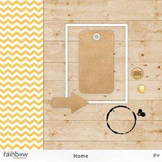 Quality DigiScrap Freebies: Home tiny kit freebie from Rainbow Scrapbook Design
