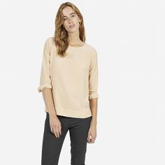 Dear Stitchfix Stylist: I would love a silk tee like this, but in a different color.