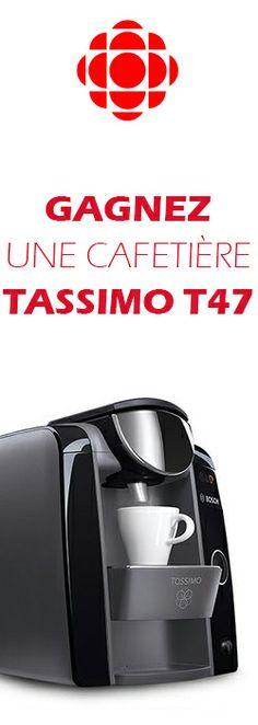Gagnez une cafetière Tassimo T47. Fin le 6 janvier.  http://rienquedugratuit.ca/concours/cafetiere-tassimo-t47/