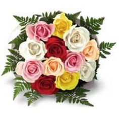 Our Charming Multicolor Roses Bunch is more appropriate for Sending your Warm Regards With. Send these Roses through Shop2Hyderabad.