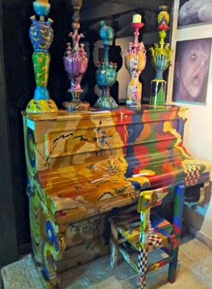 painted Piano                                                                                                                                                                                 More