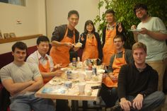 #StartupChina #interns learning how to make #Chinese #dumplings #internship #China #Shanghai
