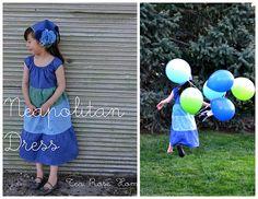 Grosgrain: Free Pattern Month Day 19 - Tea Rose Home: Neapolitan Dress