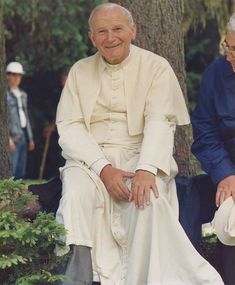 John Paul II, Facebook page