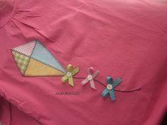 an adorable way to dress up a simple t-shirt