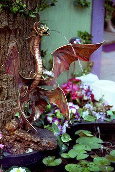 dragon fountain - Bing Images