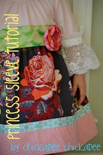 princess sleeve tutorial for my princess! Diy Clothes Bag, Sewing Kids Clothes, Sewing For Kids, Baby Sewing, Sewing Blogs, Diy Sewing Projects, Sewing Tutorials, Sewing Crafts, Sewing Tips