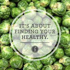 It's about finding your healthy! #health