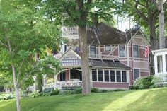 Bay View, Michigan -- filled with Victorian cottages