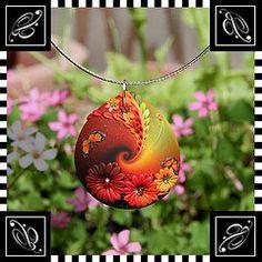 Pendant - lovely autumn colours