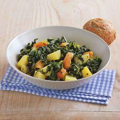 Grünkohl-Kartoffel-Eintopf Rezept | Küchengötter