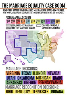 The Marriage Equality Map You Need To Know