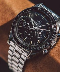 Callout omega speedmaster co Best Watches For Men, Luxury Watches For Men, Cool Watches, Dream Watches, Stylish Watches, Omega Speedmaster Moonwatch, Omega Seamaster, Patek Philippe, Audemars Piguet
