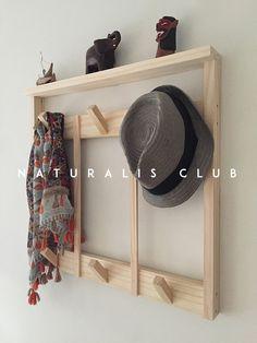 Perchero De Pared Con Estante Ideal Recibidor Diseño Nordico Escandinavo Vintage Naturalis Club 6 Perchas Madera Natural - $ 1.995,00 en Mercado Libre