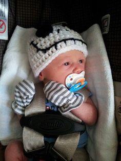 Mommy Made Crochet: Jack Skellington Hat